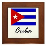 Cuba Framed Tile