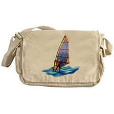 Wild Windsurfer Messenger Bag