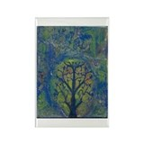 Tree of Life II Rectangle Magnet