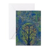 Tree of Life II Greeting Cards (Pk of 10)