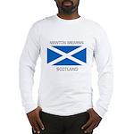 Newton Mearns Scotland Long Sleeve T-Shirt
