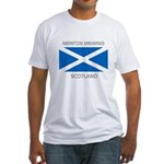 Newton Mearns Scotland Fitted T-Shirt