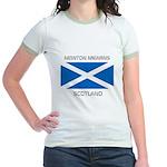 Newton Mearns Scotland Jr. Ringer T-Shirt