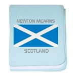 Newton Mearns Scotland baby blanket