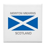Newton Mearns Scotland Tile Coaster