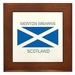 Newton Mearns Scotland Framed Tile