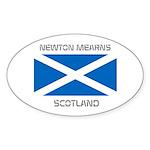 Newton Mearns Scotland Sticker (Oval 50 pk)