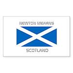 Newton Mearns Scotland Sticker (Rectangle 10 pk)