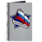 """Russia Star Flag"" Journal"