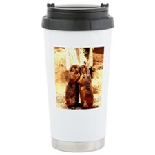 Love and Kissing Prairie Dog Travel Mug