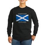 Overtown Scotland Long Sleeve Dark T-Shirt