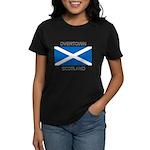 Overtown Scotland Women's Dark T-Shirt
