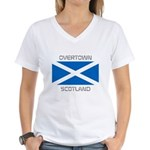 Overtown Scotland Women's V-Neck T-Shirt
