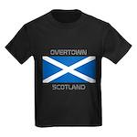 Overtown Scotland Kids Dark T-Shirt