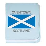 Overtown Scotland baby blanket