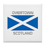 Overtown Scotland Tile Coaster
