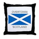 Overtown Scotland Throw Pillow