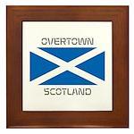 Overtown Scotland Framed Tile