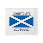 Overtown Scotland Throw Blanket