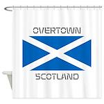 Overtown Scotland Shower Curtain