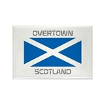 Overtown Scotland Rectangle Magnet (100 pack)