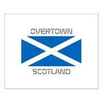 Overtown Scotland Small Poster