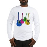 Four Guitars Long Sleeve T-Shirt