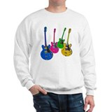 Four Guitars Sweatshirt