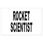 Rocket Scientist Large Poster