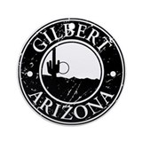Gilbert, AZ Ornament (Round)