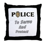 Police Service Throw Pillow