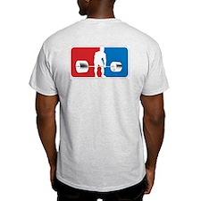 VINTAGE DEADLIFT Ash Grey T-Shirt