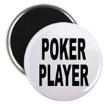 Poker Player Magnet