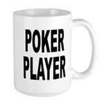 Poker Player Large Mug