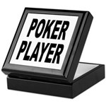 Poker Player Keepsake Box