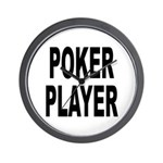 Poker Player Wall Clock