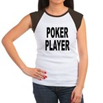 Poker Player (Front) Women's Cap Sleeve T-Shirt