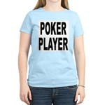 Poker Player Women's Pink T-Shirt