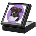 American Staffordshire Keepsake Box
