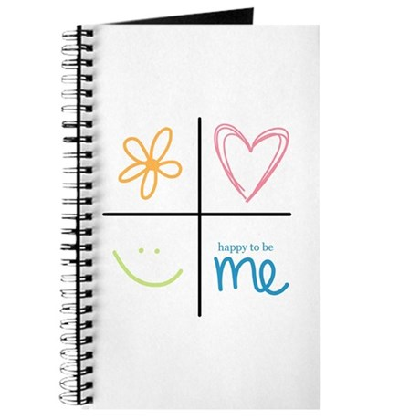 Happy to be me Journal