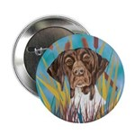 German Shorthair Pointer Button