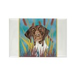 German Shorthair Pointer Rectangle Magnet (100 pac