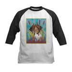 German Shorthair Pointer Kids Baseball Jersey