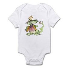 Unique Christmas music Infant Bodysuit