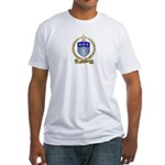 FONTENOT Family Crest Fitted T-Shirt