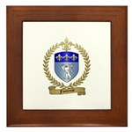 FONTENOT Family Crest Framed Tile