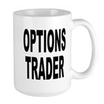 Options Trader Large Mug
