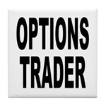 Options Trader Tile Coaster
