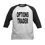 Options Trader Kids Baseball Jersey