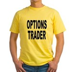 Options Trader Yellow T-Shirt